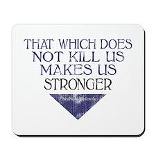 Nietzsche Quote Distressed Mousepad