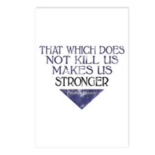 Nietzsche Quote Distressed Postcards (Package of 8