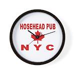 Hosehead Pub Wall Clock