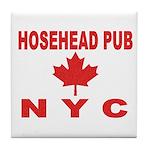 Hosehead Pub Tile Coaster