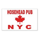 Hosehead Pub Rectangle Sticker