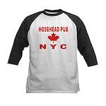 Hosehead Pub Kids Baseball Jersey
