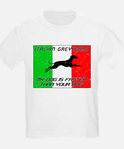 My Dog Is Faster! T-Shirt
