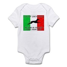 My Dog Is Faster! Infant Bodysuit