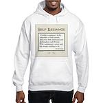 Hobgoblin Quote (cream) Hooded Sweatshirt