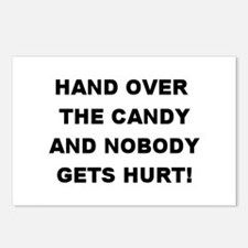 Hand Over The Candy... Postcards (Package of 8)
