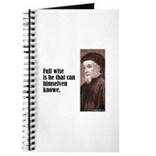 "Chaucer ""Full Wise"" Journal"
