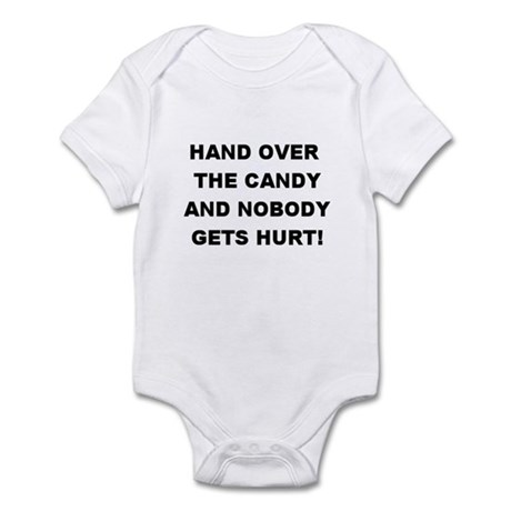 Hand Over The Candy... Infant Creeper