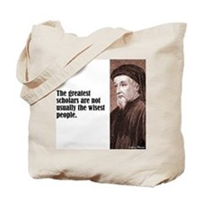 """Chaucer """"Scholars"""" Tote Bag"""