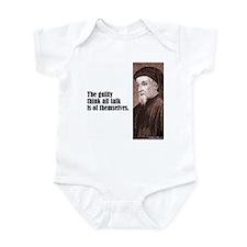 "Chaucer ""The Guilty"" Infant Bodysuit"
