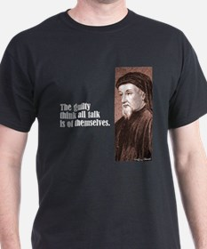 "Chaucer ""The Guilty"" T-Shirt"