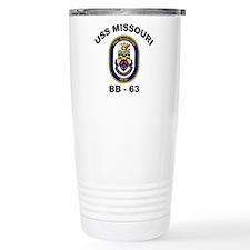 USS Missouri BB 63 Travel Mug