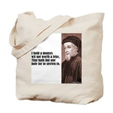 """Chaucer """"Mouses Wit"""" Tote Bag"""