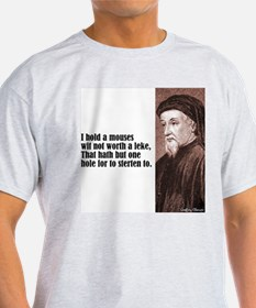 """Chaucer """"Mouses Wit"""" T-Shirt"""