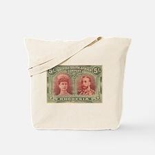 Rhodesia double head 5s Tote Bag