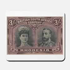 Rhodesia Double Heads 3s Mousepad
