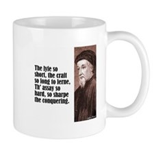 "Chaucer ""Lyfe So Short"" Mug"