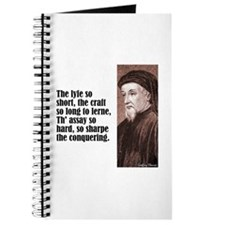 "Chaucer ""Lyfe So Short"" Journal"