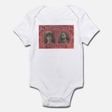 Rhodesia Double Heads 2s6d Infant Bodysuit