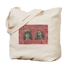 Rhodesia Double Heads 2s6d Tote Bag