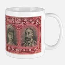 Rhodesia Double Heads 2s6d Mug