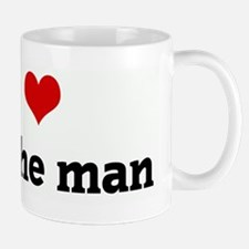 I Love dan the man Mug