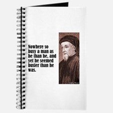 "Chaucer ""Busy Man"" Journal"
