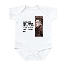 "Chaucer ""Busy Man"" Infant Bodysuit"