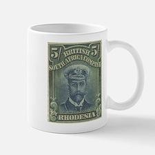 Rhodesia KGV Admirals 5s Mug
