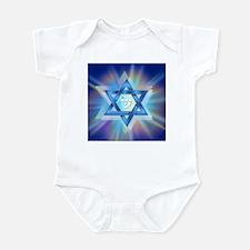 Radiant Magen David Infant Bodysuit