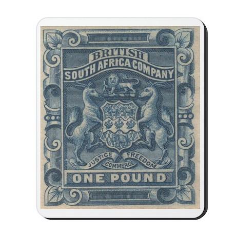 Rhodesia arms One Pound Mousepad