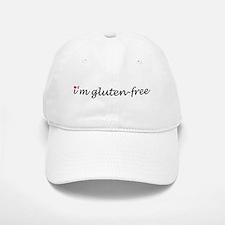 i'm gluten-free w/heart Baseball Baseball Cap