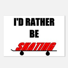 I'd Rather Be Skating Postcards (Package of 8)