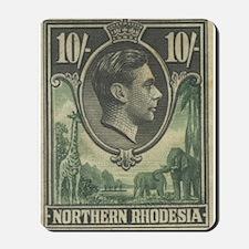 Northern Rhodesia KGVI 10s Mousepad