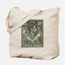 Northern Rhodesia KGVI 10s Tote Bag