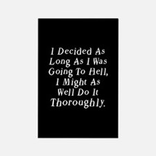 Twilight Hell Quote Rectangle Magnet