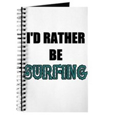 I'd Rather Be Surfing Journal