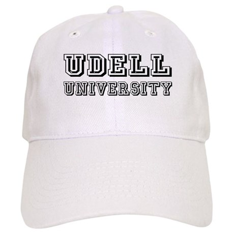 Udell Last Name University Cap