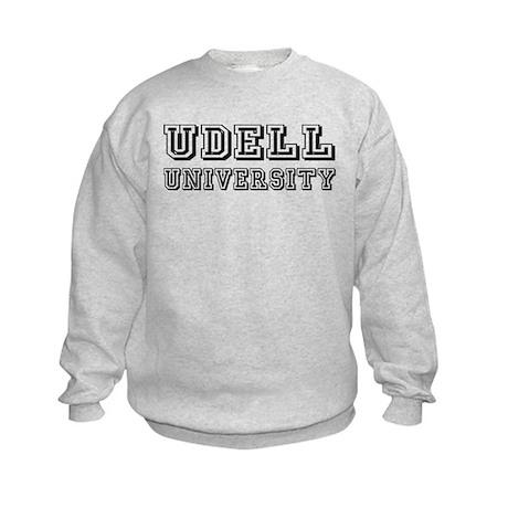 Udell Last Name University Kids Sweatshirt