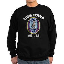 USS Iowa BB-61 Jumper Sweater