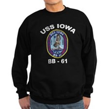USS Iowa BB-61 Sweatshirt