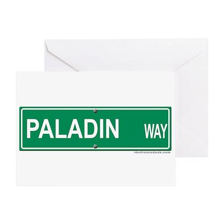Paladin Way Greeting Card