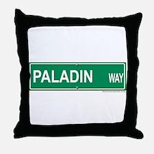 Paladin Way Throw Pillow