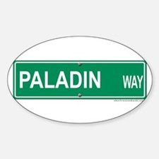 Paladin Way Oval Decal