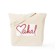 mahal/heart Tote Bag