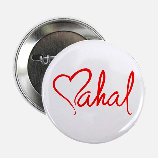 "mahal/heart 2.25"" Button"