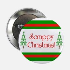 "Scrappy Christmas 2.25"" Button (10 pack)"