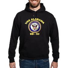 USS Alabama BB 60 Hoodie