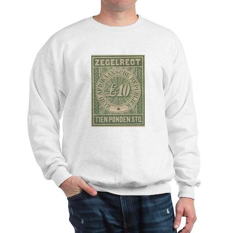 Transvaal Ten Pounds revenue Sweatshirt