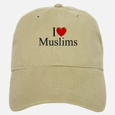 """I Love (Heart) Muslims"" Baseball Baseball Cap"